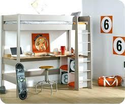 lit mezzanine avec bureau intégré bureau lit mezzanine s duisant lit mezzanine avec bureau ruben 90