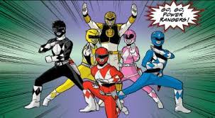mighty morphin power rangers free comic book issue review