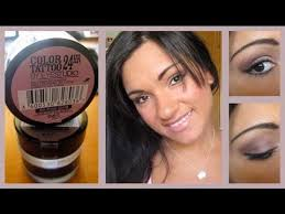 makeuptutorial pink gold maybelline color tattoo youtube