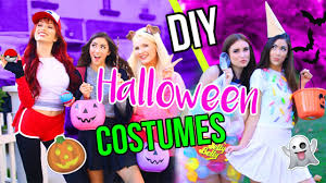 diy last minute halloween costumes youtube