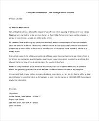 example of college recommendation letter teacher cover letter
