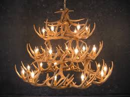 unique antler chandelier u2014 liberty interior