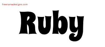 ruby archives free name designs
