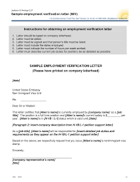 brilliant ideas of confirmation of employment letter for visa