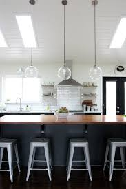 Lighting For Cathedral Ceiling In The Kitchen by House Tweaking