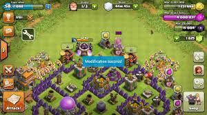 game mod coc apk terbaru clash of clans mod unlimited gems android ios 2017 v9 256 19