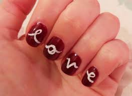 nail art valentines day design how you can do it at home