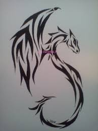 tribal dragon tattoos for girls pictures to pin on pinterest