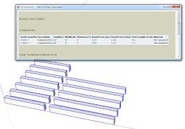 Components Of A Spreadsheet Sum The Length Of A Component Extensions Sketchup Community