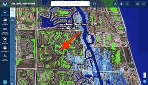 Doral Florida Map by Many Trump Properties Could Be Underwater Due To Rising Sea Levels