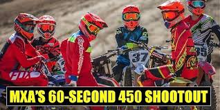 motocross action 450 shootout mxa test 2017 bite size 450 shootout motocross action magazine