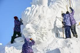 harbin snow and ice festival 2017 harbin international ice and snow sculpture festival little
