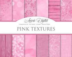 shabby chic pink damask digital paper scrapbooking backgrounds