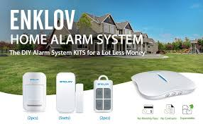 amazoncom  enklov wifipstn diy home security alarm system kit  with product description from amazoncom