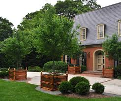 exterior design mesmerizing brick patio with planter boxes and