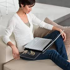 Lap Desk With Mouse Pad Amazon Com Logitech Portable Lapdesk N315 With Retractable Mouse