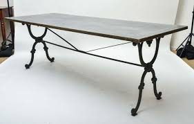 cast iron glass table iron dining table base 19th century cast writing or with new 0 ege