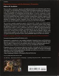 population games and evolutionary dynamics economic learning and