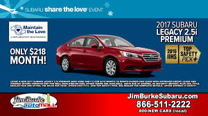 subaru legacy red 2017 jim burke subaru 2017 legacy 2 5i 218 month 111016 youtube