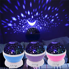 childrens night light projector night light projector rotary flashing starry star sky led l for