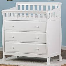 White Wood Changing Table Nursery Changing Table Ideas Baby Changer Furniture
