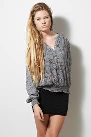 elastic waist blouse floral sleeve buttoned blouse with elasticated waist nanou b