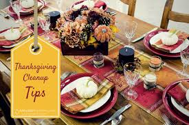 5 tips to make cleaning up after thanksgiving dinner easier 5
