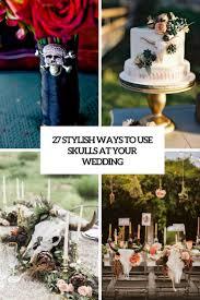 Backyard Skulls 27 Stylish Ways To Use Skulls At Your Wedding Weddingomania