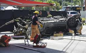 three boys dead after fiery crash in stolen suv pinellas sheriff says
