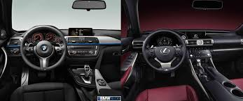 lexus interior 2014 photo comparison f30 bmw 3 series m sport vs 2014 lexus is f sport