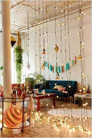 decorate your living room with string lights decorate your living room with string lights 3