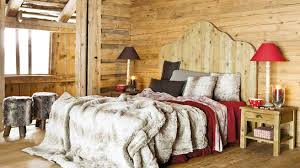 chambre style chalet chambre style chalet montagne mobilier décoration