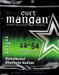 Medium Light Guitar Strings by Curt Mangan Nickel Electric Guitar Strings String Baby