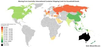 Household Goods Move Estimate by 2017 Overseas Cargo Freight Costs From Australia Moverdb Com