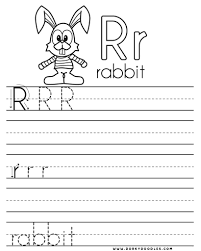 letter r coloring page and writing practice worksheet u2013 dorky doodles