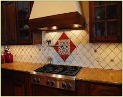 mexican tile backsplash kitchen the mexican tile backsplash to pimp up your homes