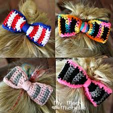 hair bows galore creative crochet by my mady
