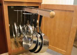 legalized pot rack pull out hanging pot and pan lid rack cookware