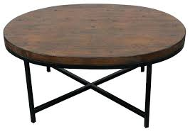 Oval Wood Coffee Table Reclaimed Wood Round Coffee Table Round Coffee Table Metal And