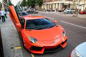 Lamborghini Aventador Orange - lamborghini aventador lp700 4 12 september 2017 autogespot