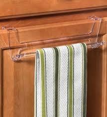 over cabinet door towel bar over cabinet door towel bar clear in kitchen towel holders