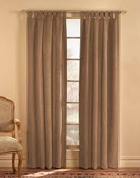 Wide Window Curtains by Microsuede Tab Top Wide Width Curtain Panel Curtainworks Com