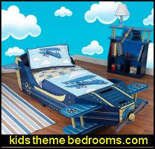 toddler theme beds airplane bedroom decorating ideas boys aviation bedrooms kids