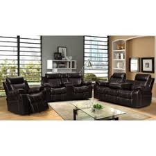 Living In Style Gabrielle  Piece Living Room Reclining Sofa Set - Sofa set in living room