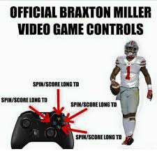 Braxton Miller Meme - 25 best memes about game characters game characters memes