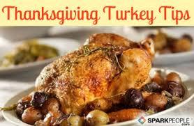 thanksgiving turkey tips sparkpeople