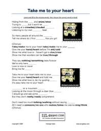esl music and songs worksheets printable worksheets