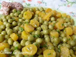 cuisiner des petits pois salade de petits pois la cuisine de quat sous