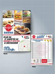 cuisine restauration rapide de flyers pour restauration rapide