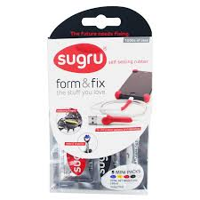 sugru self setting rubber multicolour pack of 5 departments